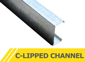 C-lipped Channel